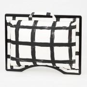 Podložka pod notebook Popono Black Squares S