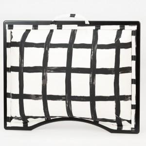 Podložka pod notebook Popono Black Squares M