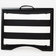 Podložka pod notebook Popono Black Stripes M