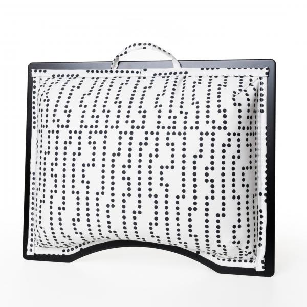 Podložka pod notebook Popono Black Dots