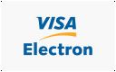 Možnosť platby VISA Electron